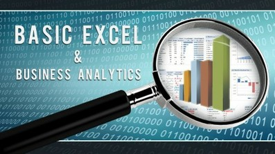 Excel: Basic Excel and Business Analytics course image