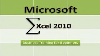 Microsoft Excel 2010 Business Training for Beginners course image