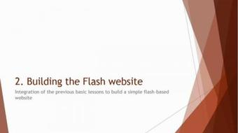 Adobe Flash for Beginners - Build Flash Website From Scratch course image