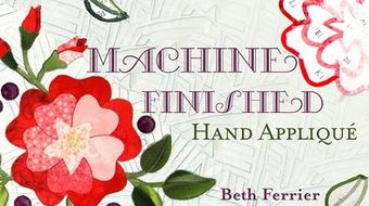 Machine-Finished Hand Applique course image