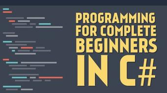 Programming for Complete Beginners in C# course image