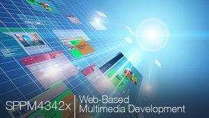 WEB BASED MULTIMEDIA DEVELOPMENT course image