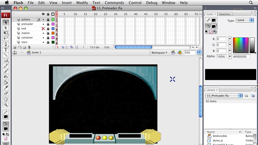 Flash CS3 Professional: Creating Games for the Wii course image
