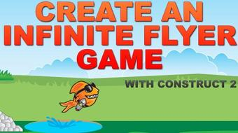 Create an Infinite Flyer Game With Construct 2 (HTML5) course image