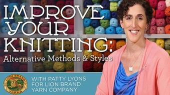 Improve Your Knitting: Alternative Methods & Styles course image