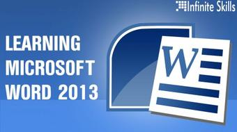 Microsoft Word 2013 Tutorial, Learn To Master Microsoft Word course image