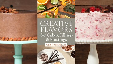 Creative Flavors for Cakes, Fillings & Frostings course image