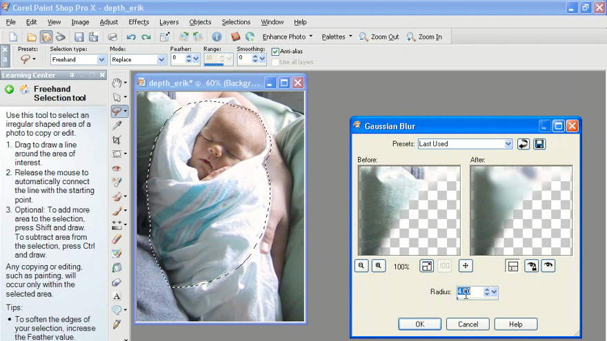 Getting Started with Paint Shop Pro X course image