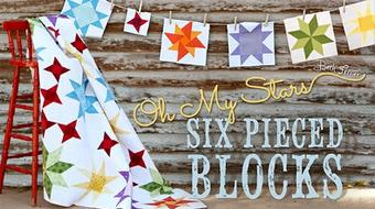 Oh My Stars! Six Pieced Blocks course image