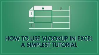 How to use Vlookup in Excel - A simplest tutorial course image