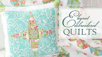 Elegant Embroidered Quilts course image
