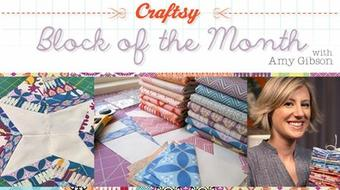 Craftsy Block of the Month 2012 course image