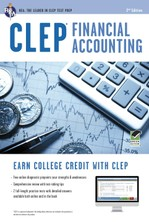 CLEP® Financial Accounting Book + Online course image