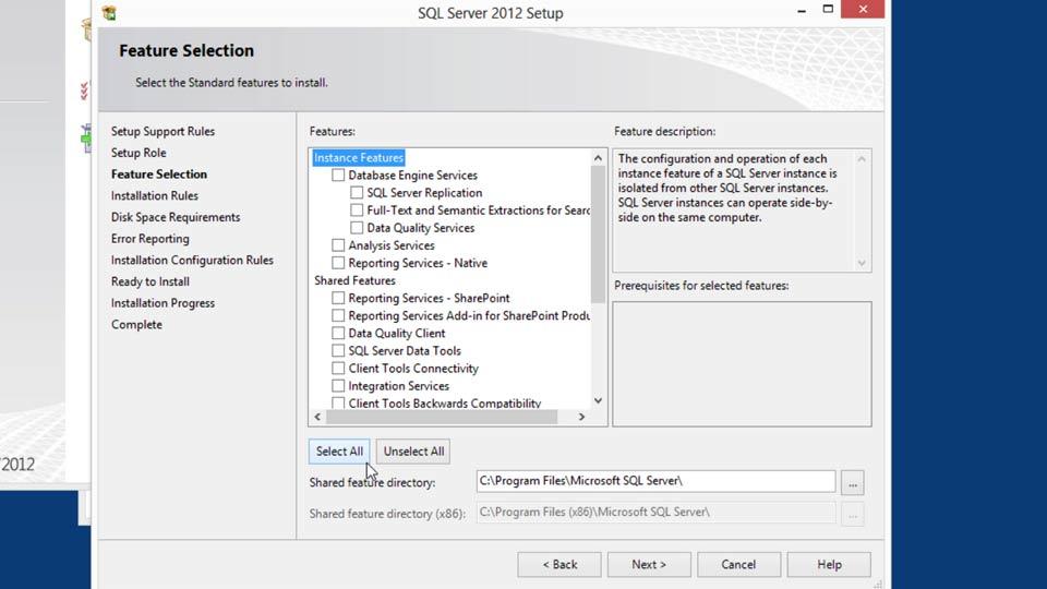 Installing SQL Server 2012 course image