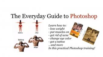 Photoshop in 10 practical steps course image