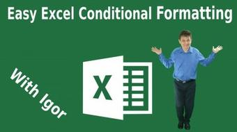 Excel Conditional Formatting Master Class course image