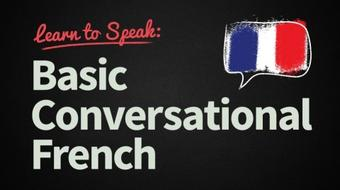 Learn to Speak: Conversational French - Full Course course image