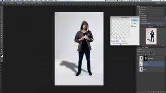 Creating A Drop Shadow in Photoshop course image