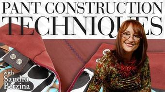 Pant Construction Techniques course image