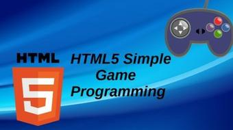 Simple HTML5 Game Development course image