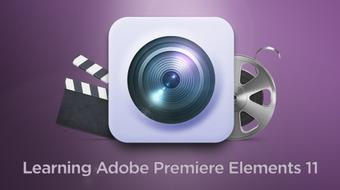 Adobe Premiere Elements 11 Training - Tutorial Video course image