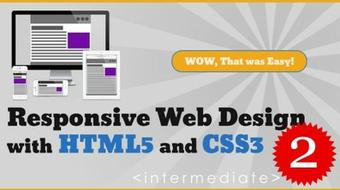 Responsive Web Design with HTML5 and CSS3 - Intermediate course image