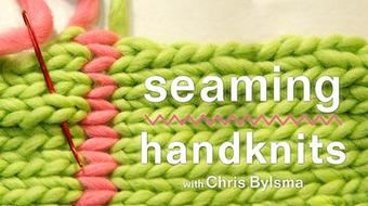 Seaming Handknits course image