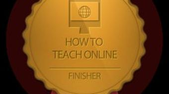 How to Teach Online course image
