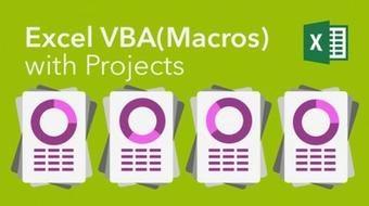 Excel VBA (Macros) with Projects course image
