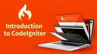 Introduction to CodeIgniter course image