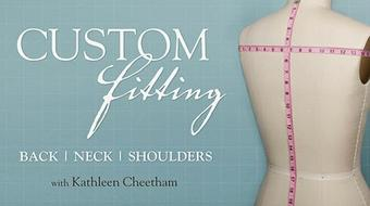 Custom Fitting: Back, Neck, and Shoulders course image