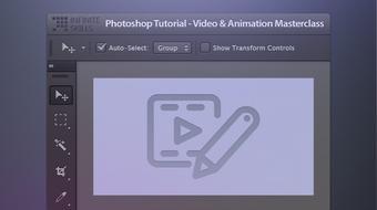 Photoshop Tutorial - Video & Animation Masterclass course image