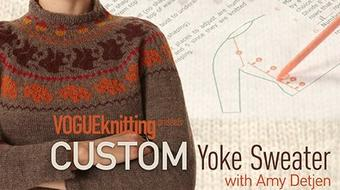Custom Yoke Sweater course image