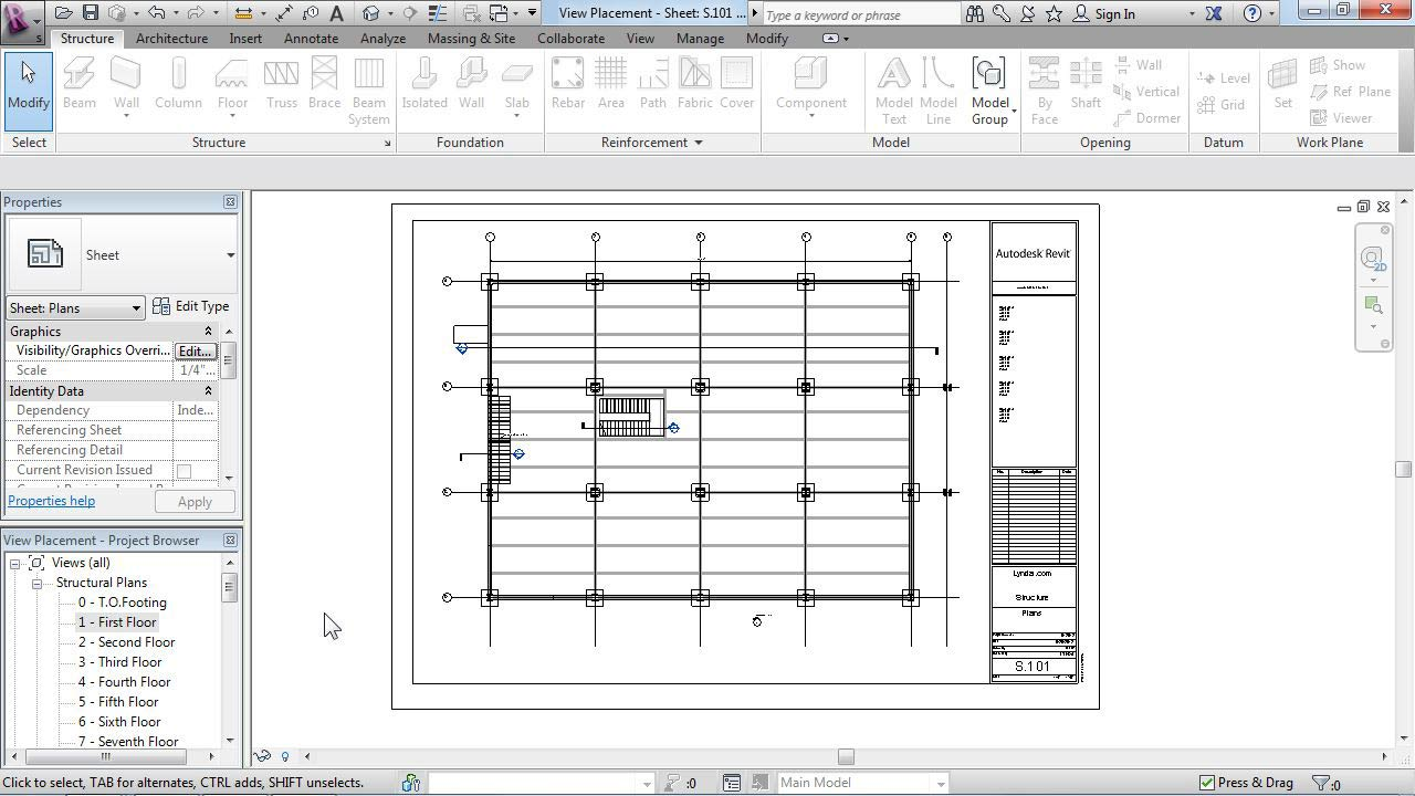Lynda - Revit Structure 2013 Essential Training - student