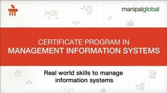 Certificate Program In Management Information Systems course image