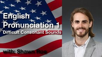 English Pronunciation I: Consonant Sounds course image
