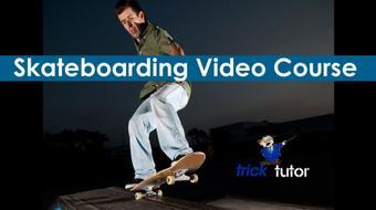 Trick Tutor- Beginner Skateboarding Lesson Online course image