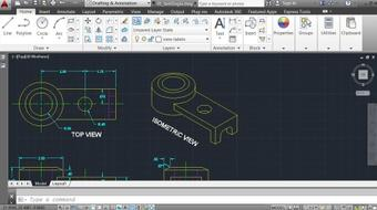 AutoCAD 2014 Essentials: 04 Annotating a Drawing course image
