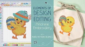Elements of Design Editing: Machine Embroidery course image