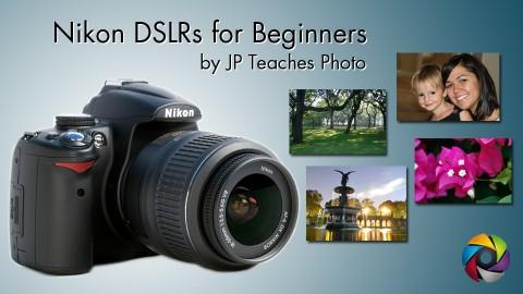 Beginner Nikon Digital SLR (DSLR) Photography course image