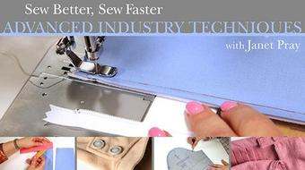 Sew Better, Sew Faster: Advanced Industry Techniques course image
