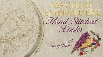 Machine Embroidery, Hand-Stitched Looks course image