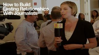 Startup PR:How To Build Lasting Relationships w/ Journalists course image