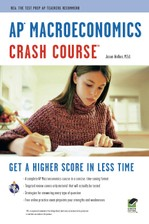 AP® Macroeconomics Crash Course Book + Online course image