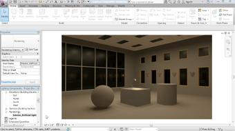 Revit Architecture: Rendering course image