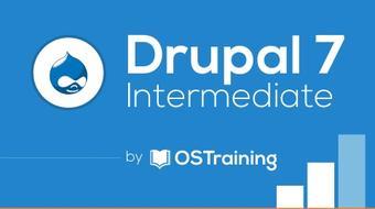 Drupal 7 Intermediate course image