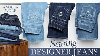 Sewing Designer Jeans course image