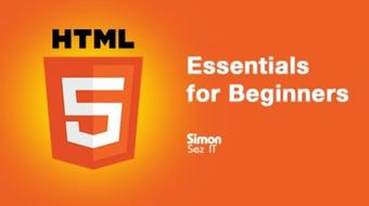 HTML5 Essentials for Beginners course image
