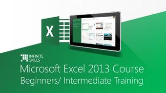Microsoft Excel 2013 Course Beginners/ Intermediate Training course image