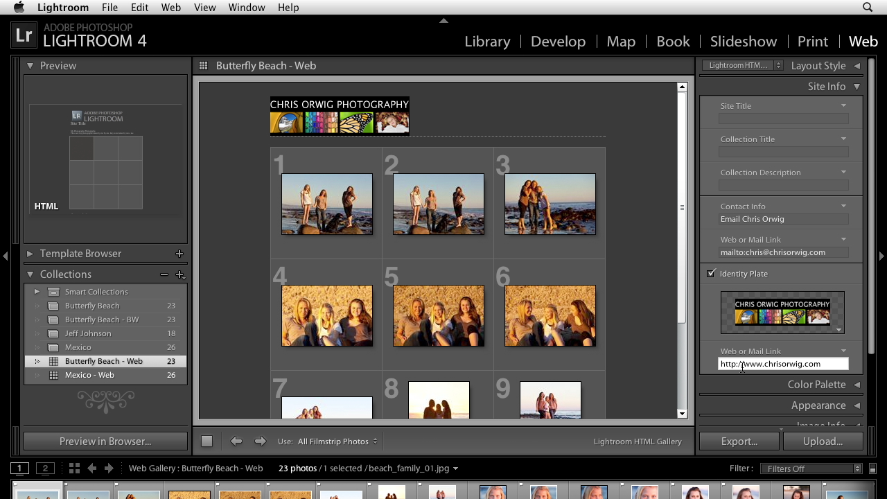 Lightroom 4 Essentials: 04 Creating Slideshows and Web Galleries course image